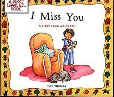 Book jacket  - I Miss You